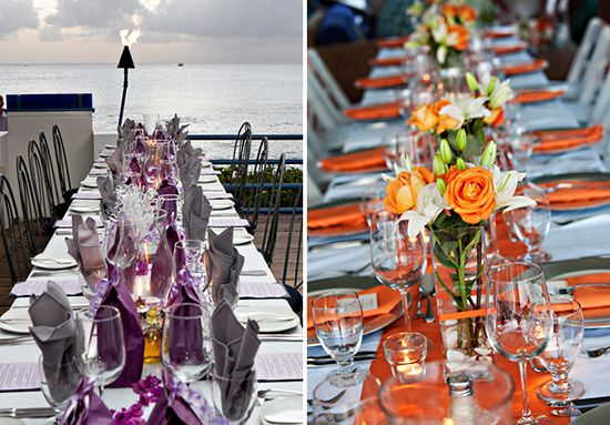 An incredible background for your wedding reception