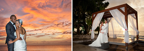 Beautiful sunset opportunities for your wedding at The Beach House Restaurant